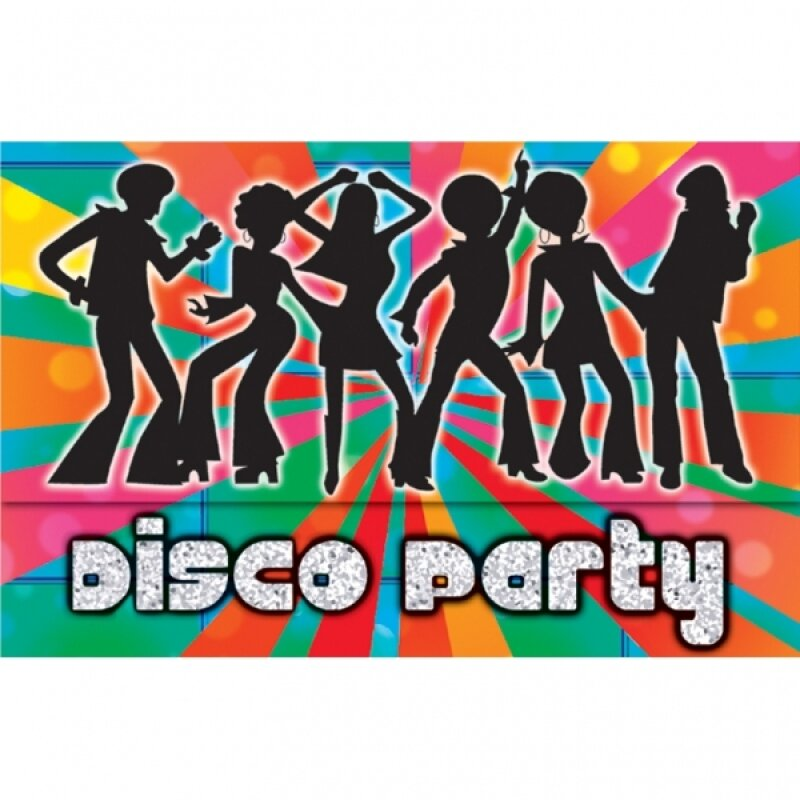 Party clipart disco party Free  Party 70s Clipart