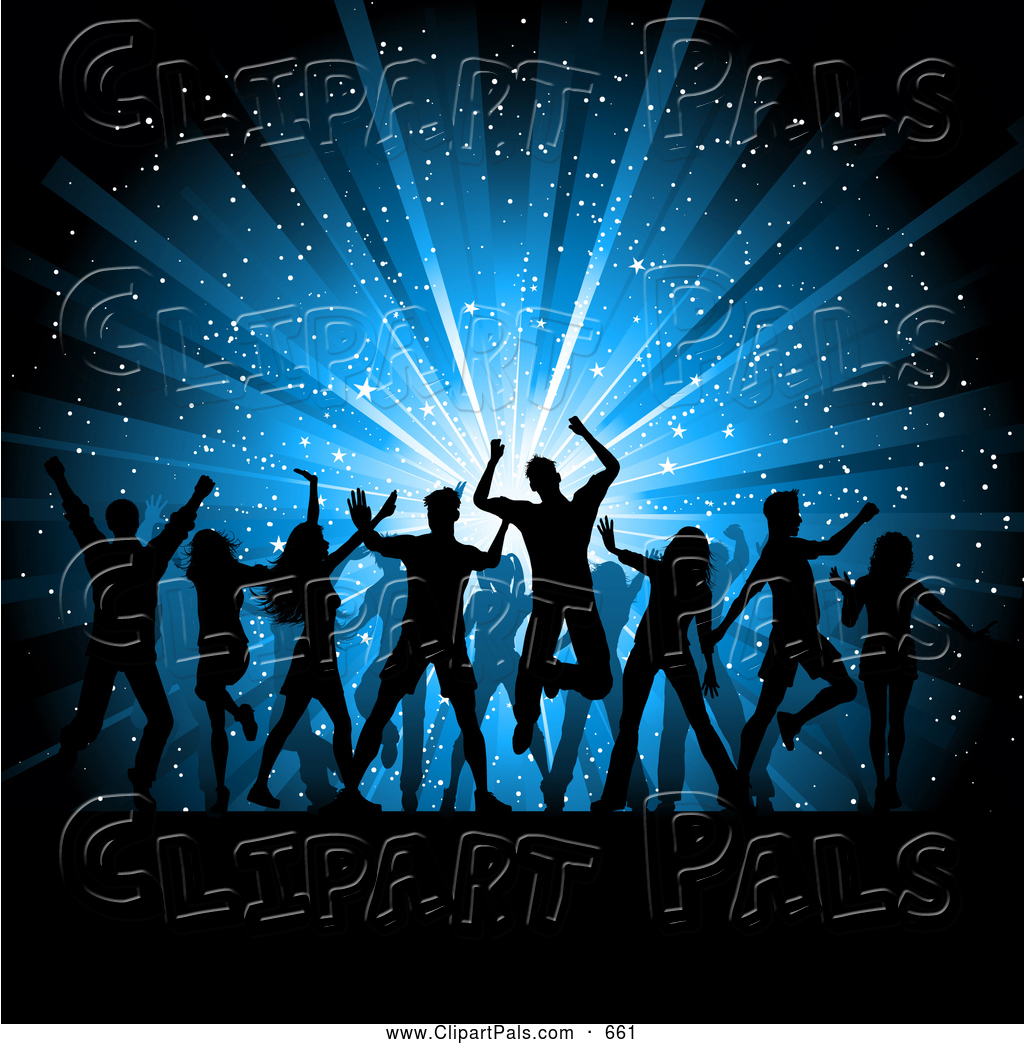 Celebration clipart star burst Of Group clipart of people