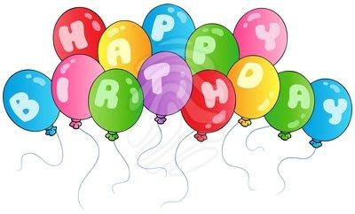 Balloon clipart happy birthday  birthday birthday happy on