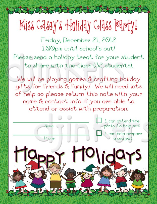 Holydays clipart holiday party More collection Happy clip invitation