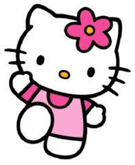 Zebra clipart hello kitty Ideas (i pin tent) palace