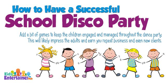Party clipart kids disco Kids Disco Have on School