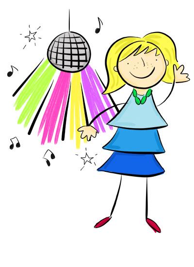 Party clipart kids disco Book Karla's Party Disco a