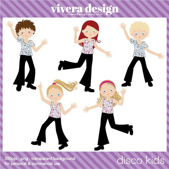Party clipart kids disco A Party Clip Disco Digital