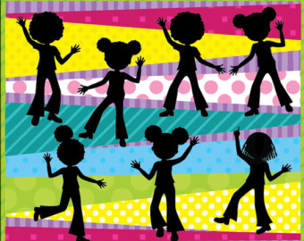 Party clipart kids disco Art Disco for Children for