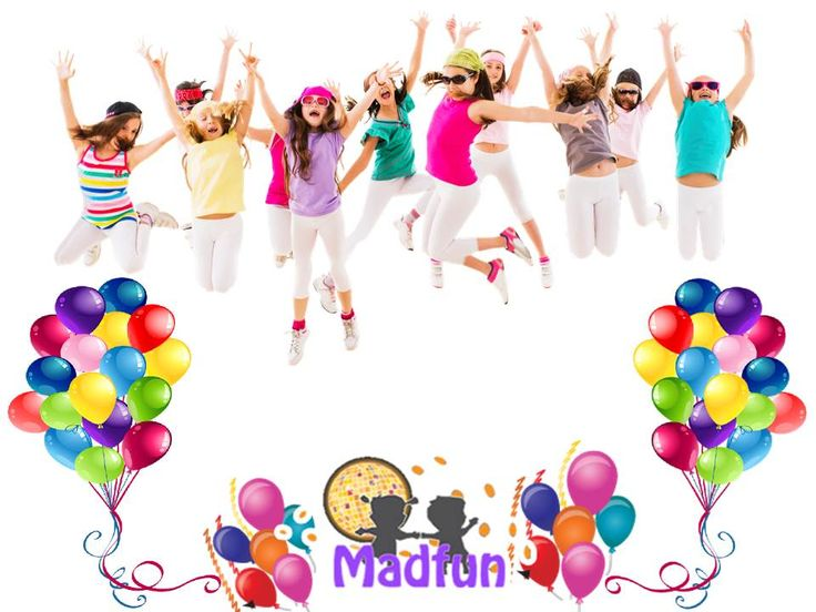 Party clipart kids disco Madfun PartyBirthday · images #