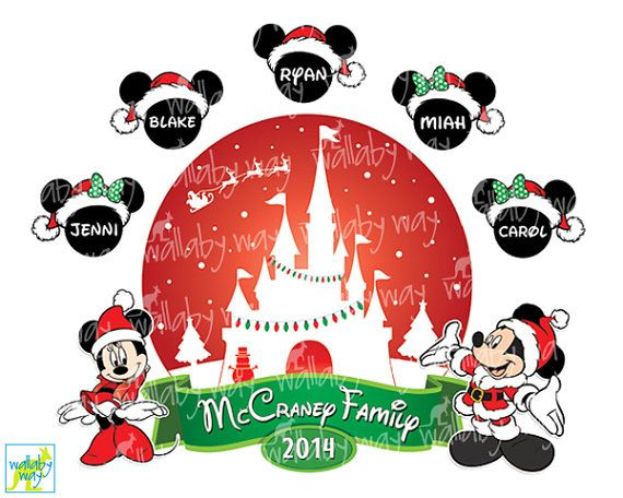 Disneyland clipart florida vacation Family TheWallabyWay On Pinterest Transfer