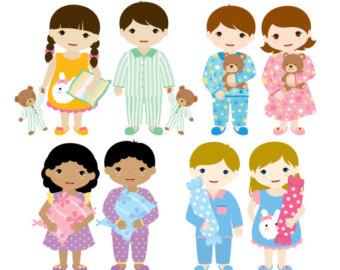 Party clipart pajamas Pajama schliferaward party clipart Pajamas