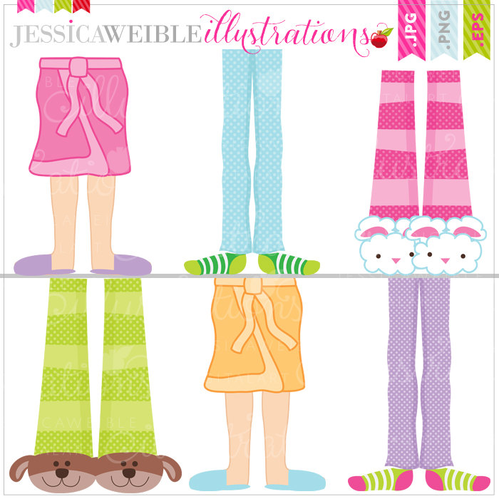 Party clipart pajamas Clipart Pajama party clipart Kids