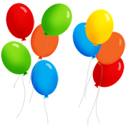 Balloon clipart 40th Party Graphics Party Clip Art