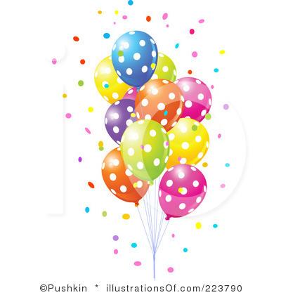 Winning clipart party balloon Party Art Balloons  Clip