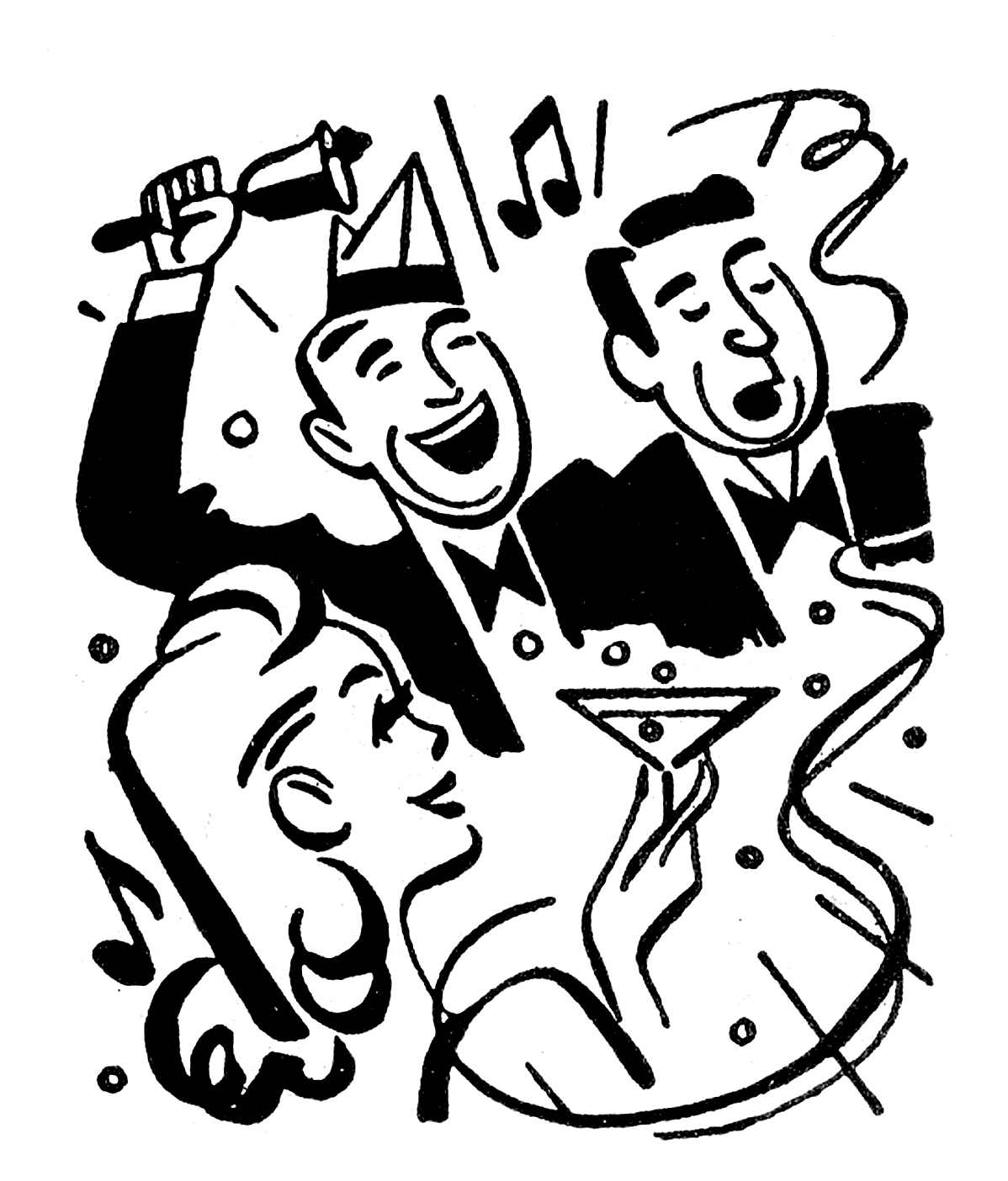 Party clipart retro Swanky The New we fun