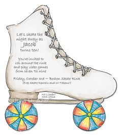 Party clipart roller skate Project have 16 Rainy skates