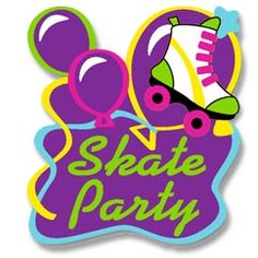 Party clipart roller skate Favors Fun Party Parties Favors