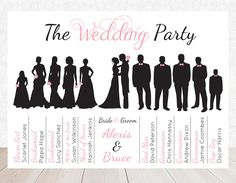 Party clipart silhouette Bride art Wedding Party party