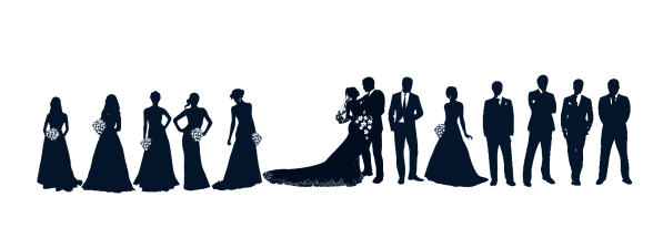 Party clipart silhouette Wedding 101 Party 27 Party