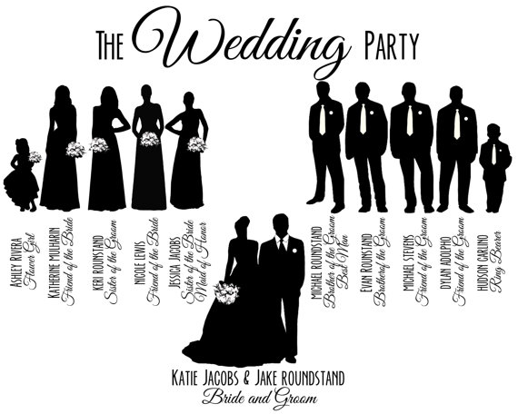 Party clipart silhouette Printable  Clip Art Free