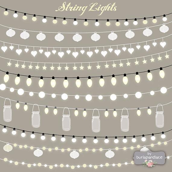 Light clipart city street Party VECTOR invitation Lights Lights
