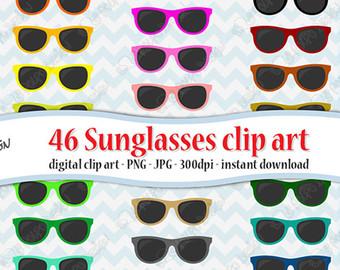 Summer clipart summer shades #4