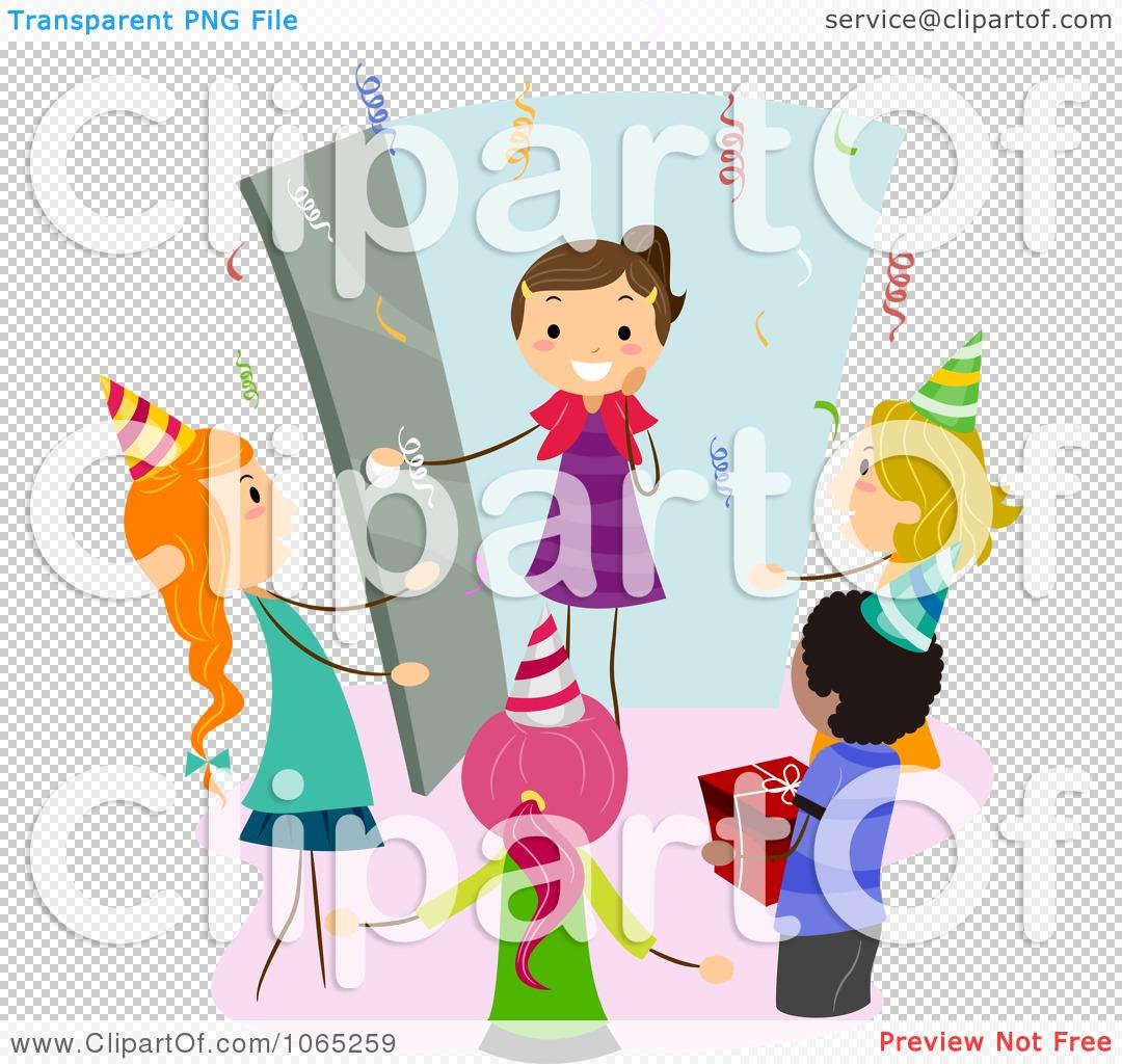 Celebration clipart surprise party Surprise clipart 917 collection gift