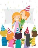 Celebration clipart surprise party Panda Clipart Surprise Art Images