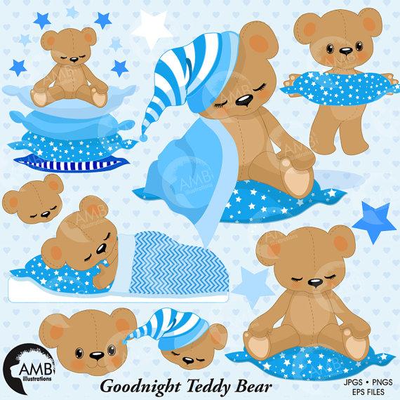 Teddy clipart baby boy Party Nursery Teddy Baby Boy
