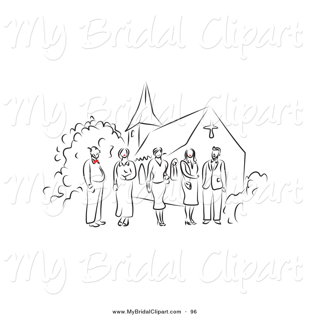 Party clipart wedding party Happy Church of with Designs