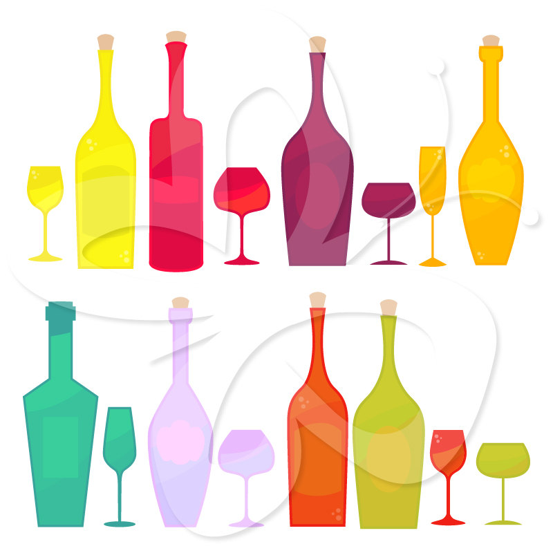 Party clipart wine glass Party wine Tasting art Wine
