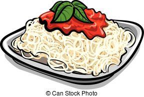 Pasta clipart delicious food 559 Vector 3 pasta Artby