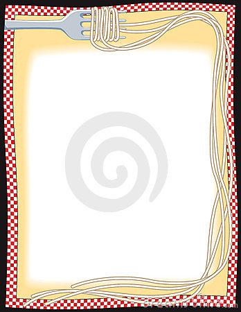 Spaghetti clipart border Border Royalty 10679885 Stock China