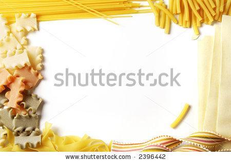 Spaghetti clipart border Download Borders Pasta Clipart Pasta