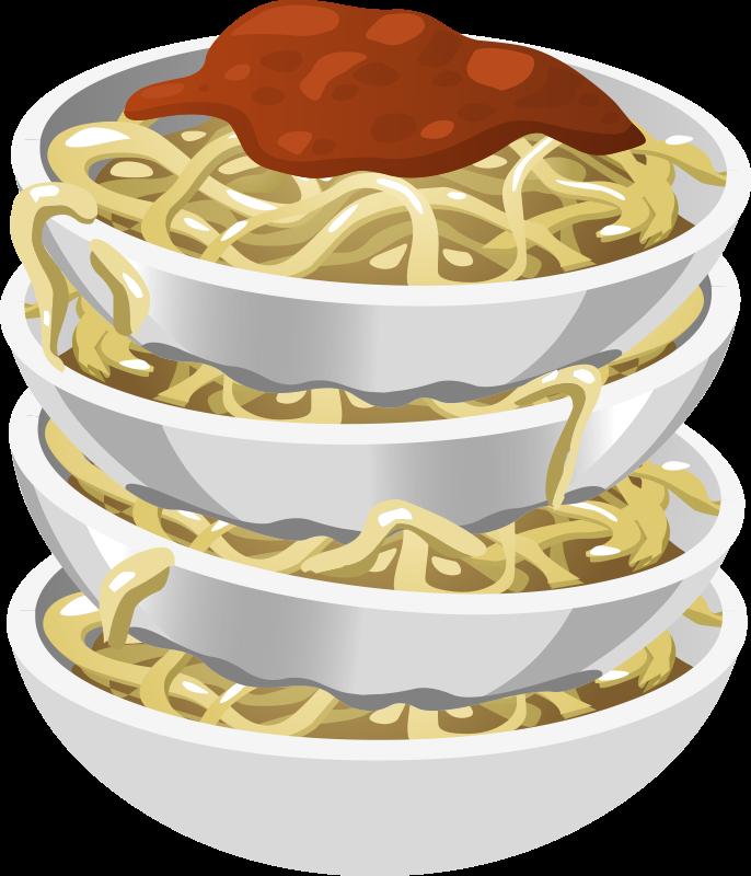 Noodle clipart plate spaghetti Art Free Pasta Clip Clip