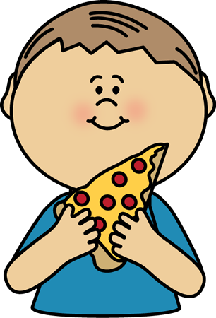 Pasta clipart boy eating Eating Art Images For Pizza