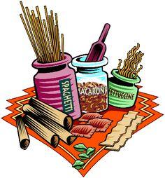 Pasta clipart food item Graphics food Pasta Food sorts