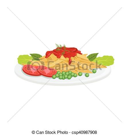 Pasta clipart food item Illustration Food Vector Item Menu