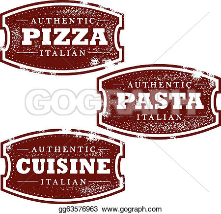 Pasta clipart italy food GoGraph Stamps Royalty Art ·
