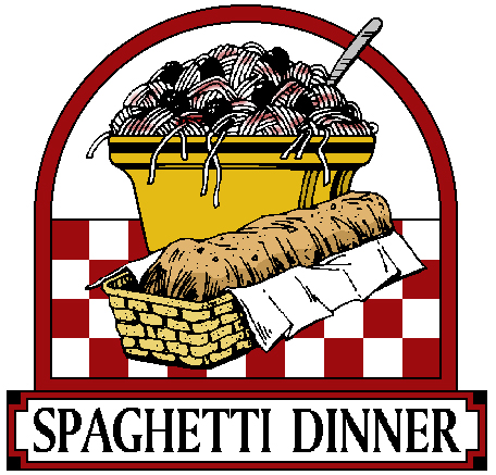 Spaghetti clipart cartoon Dinner Template Spaghetti Recipe Fundraiser