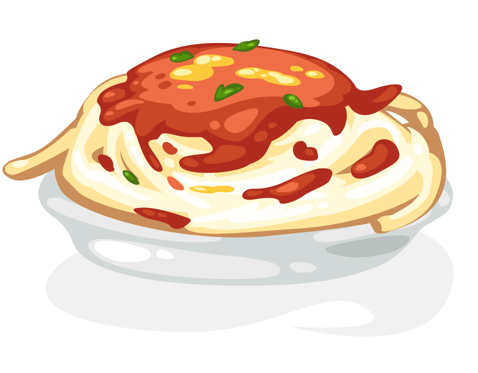Noodle clipart spagetti Spaghetti Free commercial cookbooks this