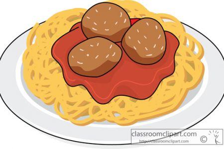 Pasta clipart spaghetti and meatball Clipart spaghetti pasta  Free