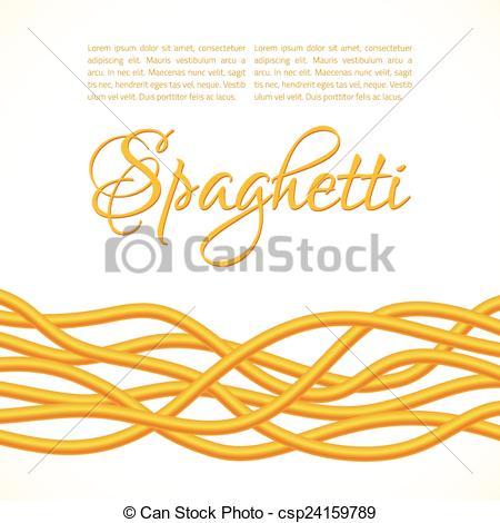 Spaghetti clipart vector Art Realistic Realistic of Vector