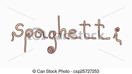 Pasta clipart word The Clipart Spaghetti Vector Spaghetti