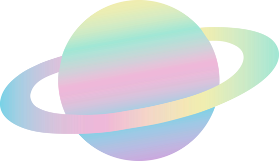 Planet clipart colored On Pastel Free colored Clipart