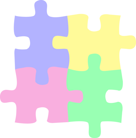 Toy clipart puzzles #4