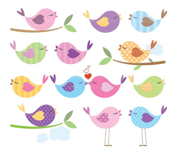 Bluebird clipart baby shower Cute Cute Animal Use Love