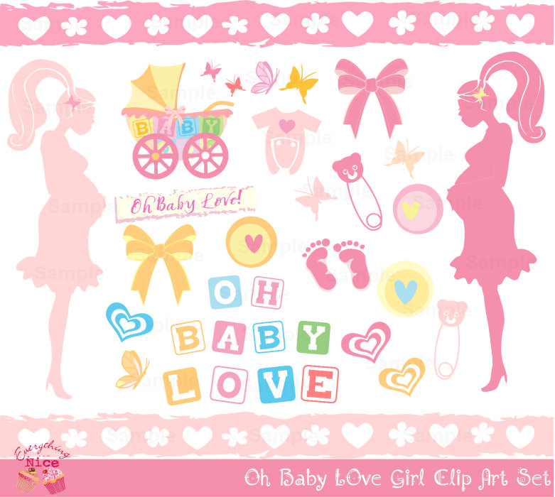 Pastel clipart baby shower Baby this Love Oh Clip