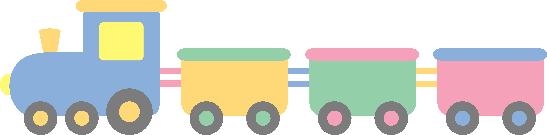 Drawn railroad cute On Clipart Clip Clip Colored