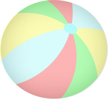 Ball clipart toy ball Beach Ball on Ball Art