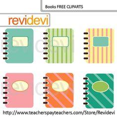 Book clipart pastel Soft rewards Seller Set Clip