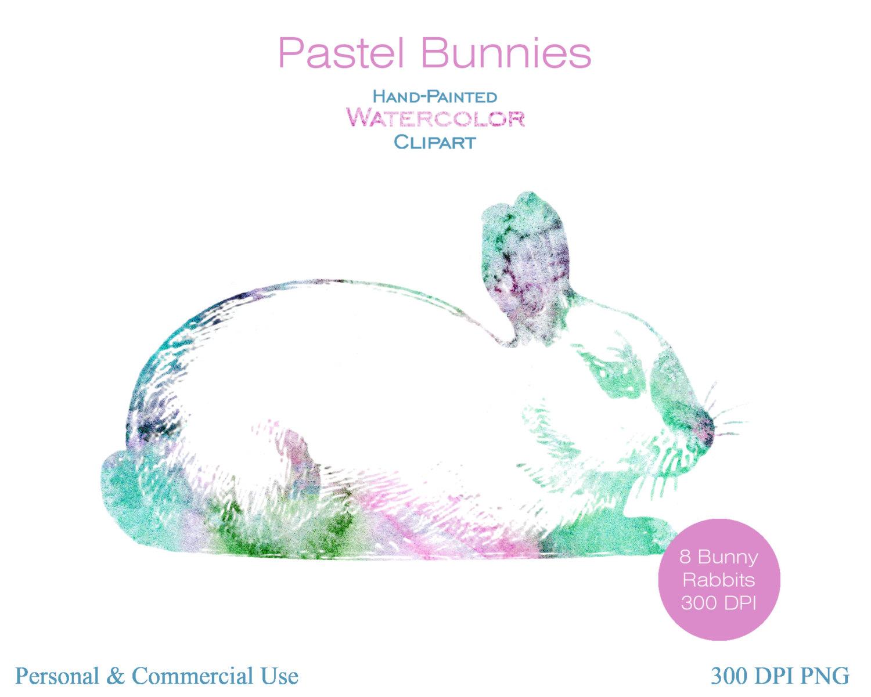 Pastel clipart bunny Clipart Pastel Clipart 8 BUNNY