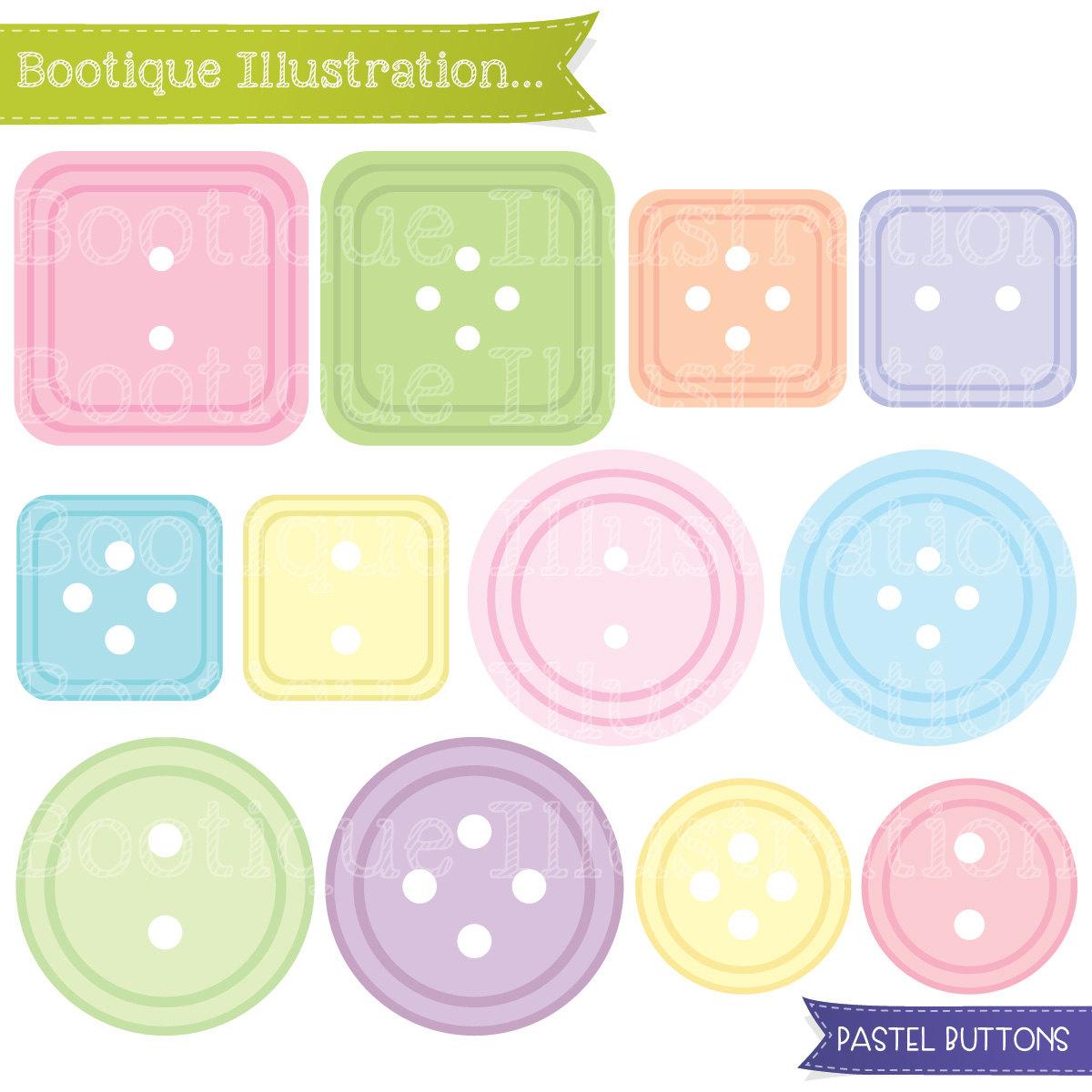 Pastel clipart button Buttons Clipart Button Pastel a
